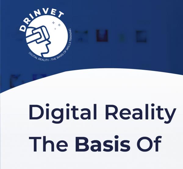 DRinVET: Digitalna stvarnost – osnova za trening vještina