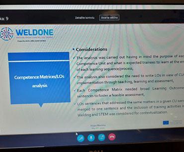 WELDONE online sastanak #1