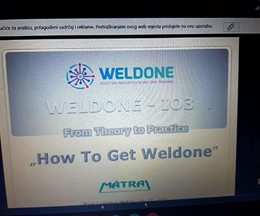 WELDONE online sastanak #3