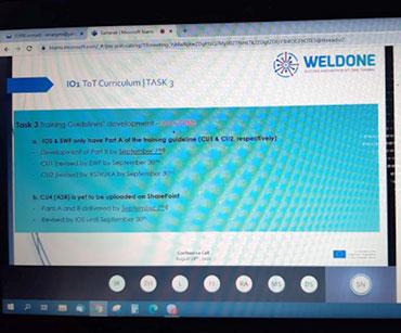 WELDONE online sastanak #4