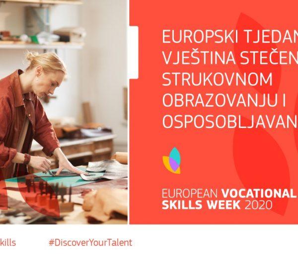 5. Europski tjedan vještina stečenih u strukovnom obrazovanju i osposobljavanju